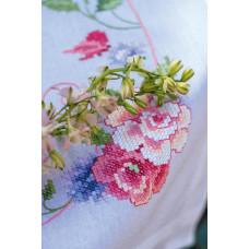 PN-0164449 Flowers and butterflies. Vervaco. Набір для вишивання нитками