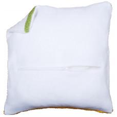 PN-0174415 Оборот для подушки з блискавкою, білий. Vervaco