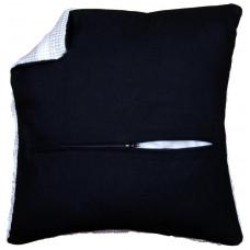 PN-0174417 Оборот для подушки з блискавкою, чорний. Vervaco