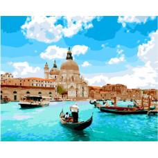 TC3049 Канали Венеції. Пан Мольберт. Набір для малювання картини за номерами