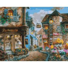 TCR3085 Європейська вуличка. Colorum. Набір для малювання картини за номерами