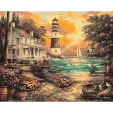 TCR3087 Морський пейзаж. Colorum. Набір для малювання картини за номерами