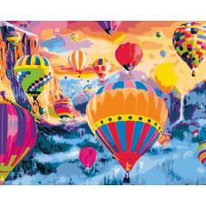 TCR3091 Парад повітряних куль. Colorum. Набір для малювання картини за номерами