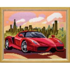 TL53 Тоскана. Quick Tapestry. Набор для вышивки нитками на канве с нанесенным рисунком