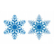 ВЛ-001 Підвіска Сніжинка. Тела Артіс. Схема для вишивання бісером