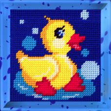 X2010 Качечка. Bambini. Набір для вишивання нитками на канві з нанесеним малюнком